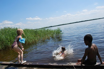 Zwemmen en lekker afkoelen